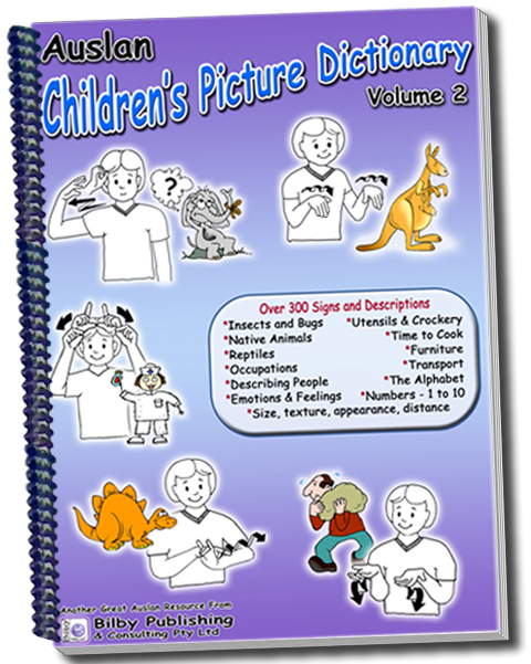 Auslan Children's Picture Dictionary - Volume 2 - 1st Edition