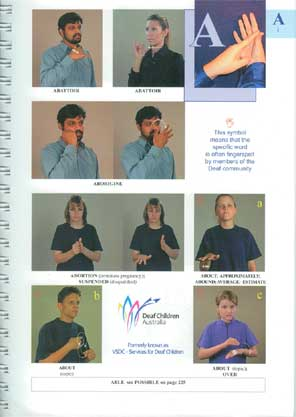 Dictionary of Auslan - Page