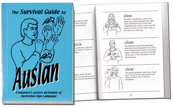 Survival Guide to Auslan - Cover