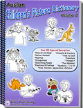 Auslan Children's Picture Dictionary - Volume 2 - Cover
