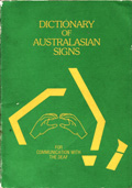 Dictionary of Australasian Signs - Cover