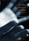 The VSDC Dictionary of Auslan - Cover